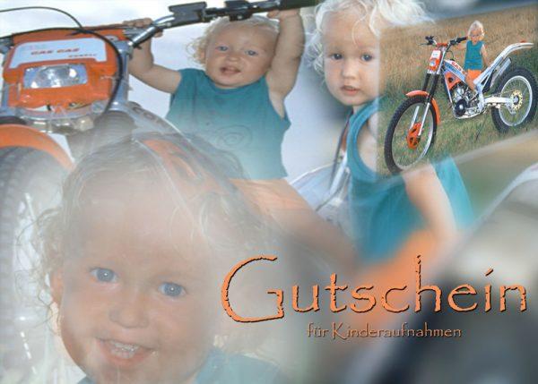 Gutschein Fotoshooting Kinder-Portrait